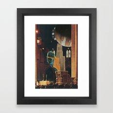 Bully Pulpit Framed Art Print