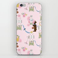 Easter Bunny Factory iPhone & iPod Skin