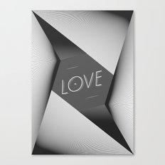 LOVE_ Canvas Print