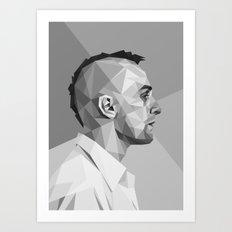 Travis Bickle Art Print