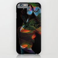 iPhone & iPod Case featuring Hooded Woman 2 by Eleigh Koonce