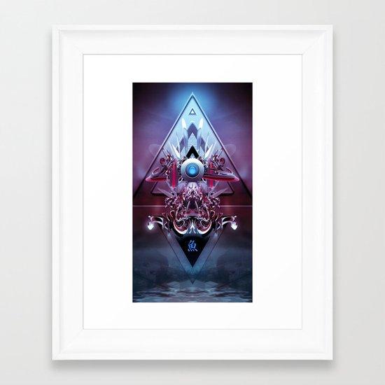 Vanguard Framed Art Print