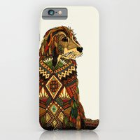 Golden Retriever ivory iPhone 6 Slim Case