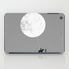 do you want the moon? iPad Case