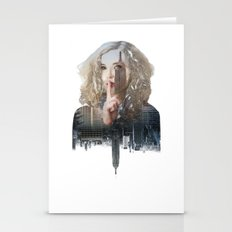 Silence In The City - Two Stationery Cards