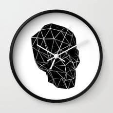 Space Skull  Wall Clock