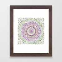 Intricate Spring Framed Art Print