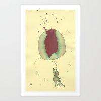 Corazon Milonguero  (Tan… Art Print