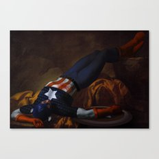 Death of Captain America Canvas Print