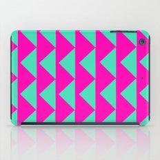 Neon Pink & Aqua iPad Case