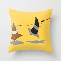 The Cone Wars Throw Pillow