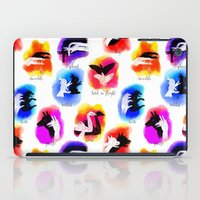 Watercolor Shadow Puppets iPad Case