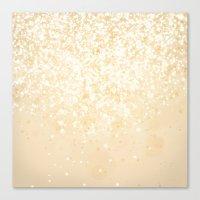 Glitteresques IV:IX Canvas Print
