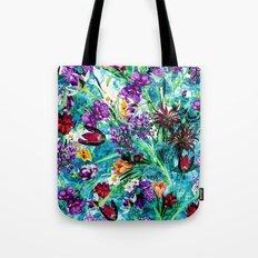 Floral Jungle Tote Bag