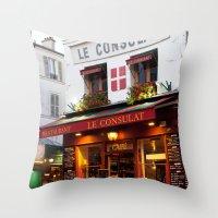 Le Consulat Throw Pillow
