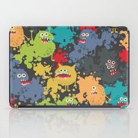 Funny Microbes. iPad Case