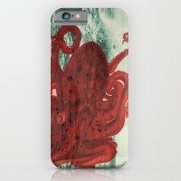Octopus Beach iPhone 6 Slim Case