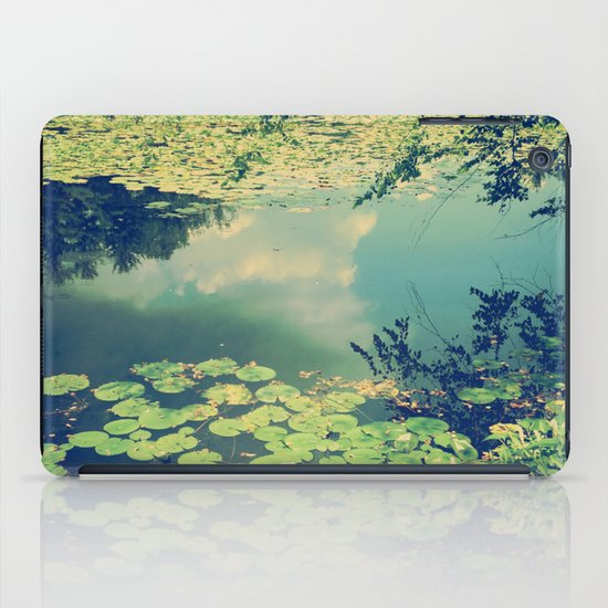 Lily Pad Pond iPad Case