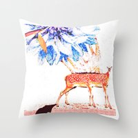 6Zampette Throw Pillow