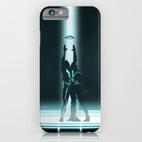 iPhone & iPod Case featuring TRON PORTAL by ED13