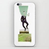 Butterflyman iPhone & iPod Skin
