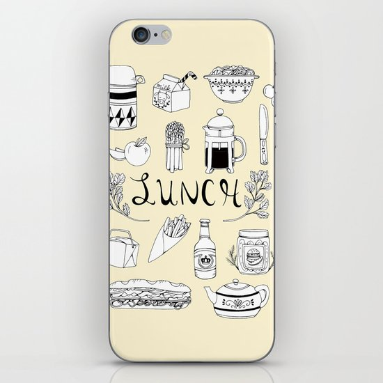 Lunch iPhone & iPod Skin