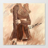 Style and music  Canvas Print
