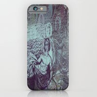 iPhone Cases featuring The Descent by Dull Work