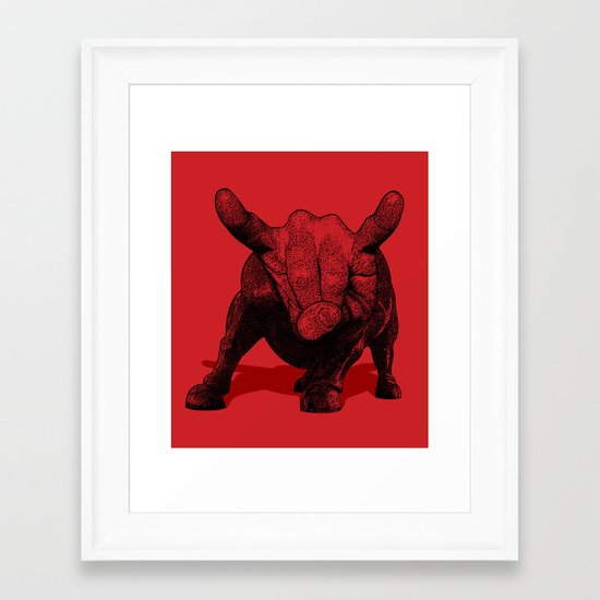 Party Animal Framed Art Print