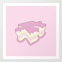 Piece Of Cake Art Print