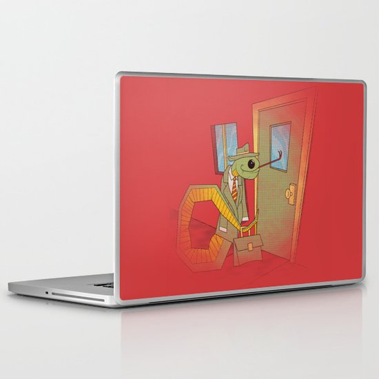 Snake Oil Salesman Laptop & iPad Skin