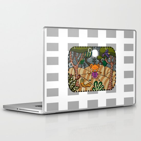 There are terrible some things in the woods!!! Laptop & iPad Skin