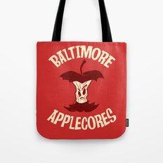 Applecores Tote Bag