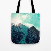 Mountain Starburst Tote Bag