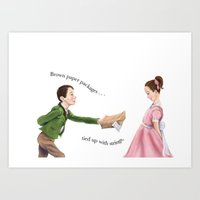 To my sweet heart Art Print