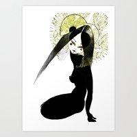 Ma Petite Japonaise V2 Art Print