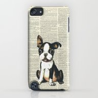 Boston Terrier Vintage P… iPod touch Slim Case