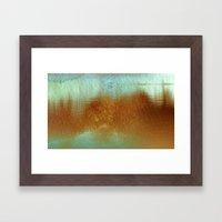 Lagoa I Framed Art Print