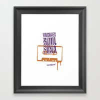 Wonder Soul Funk Framed Art Print