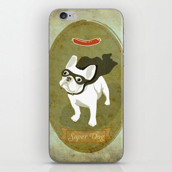 Super Dog iPhone & iPod Skin