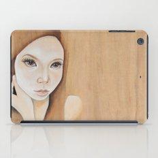 Self Portrait on Wood iPad Case
