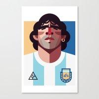 DM10 | La Albiceleste Canvas Print