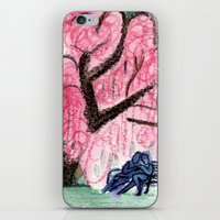 Blossoming Romance iPhone & iPod Skin