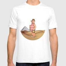 Sandcastles SMALL Mens Fitted Tee White