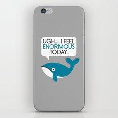 Water Weight iPhone & iPod Skin