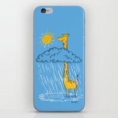 The Perks of Being a Giraffe iPhone & iPod Skin
