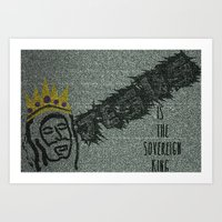 Sovereign King Art Print