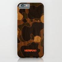 Modern Woodgrain Camouflage / Duck Print iPhone 6 Slim Case