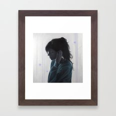 No One Said It Would Be Hard Framed Art Print