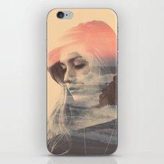Wild Lion (Double Exposure) iPhone & iPod Skin